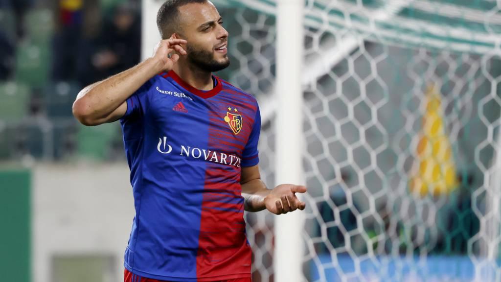 Arthur Cabral hat dank seinen zwei Toren in St. Gallen einen neuen Rekord aufgestellt