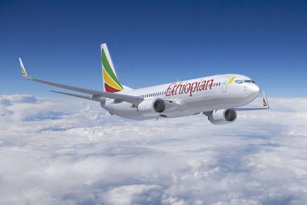 Eine Boeing 737 der Ethiopian Airlines. (Archiv)