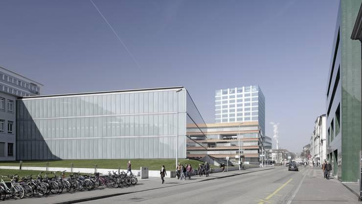 Raphael Suter, Sprecher der Fondazione Culturale Hermann Geiger: «Es ist gut denkbar, dass wir an die Spitalstrasse ziehen.» (Symbolbild)