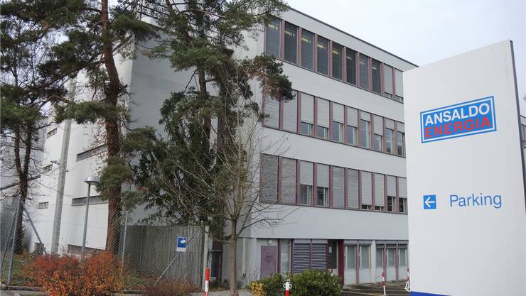 Der Sitz von Ansaldo Schweiz befindet sich an der Badener Römerstrasse. AZ-Archiv