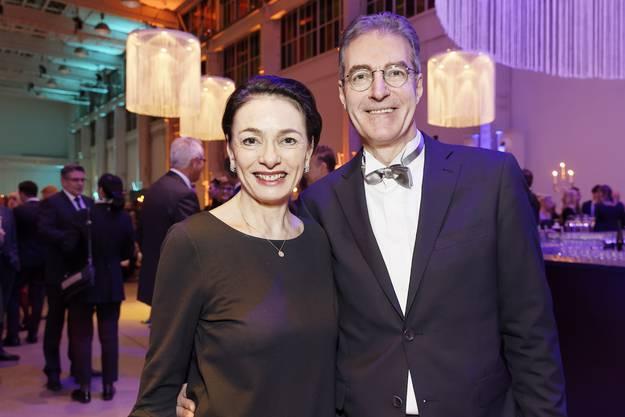 Marianne Binder, Präsidentin CVP AG und Andreas Binder, Verwaltungsrat NAB.