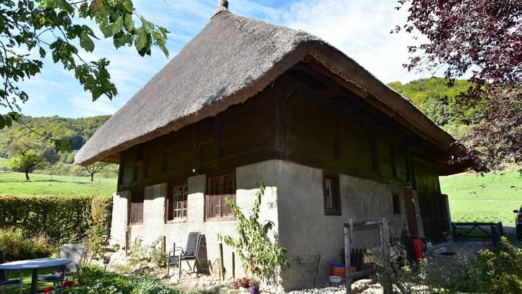 Das Strohdachhaus in Rohr ist noch bewohnt.