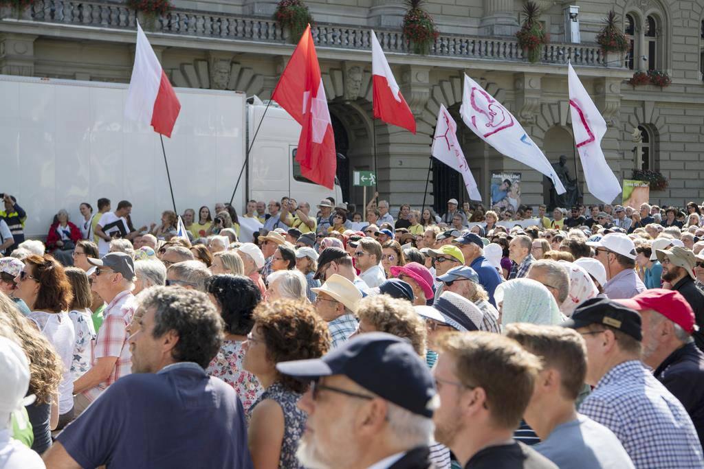 «Marsch fürs Läbe» in Bern (© Keystone)