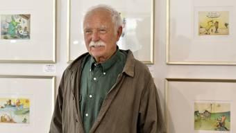 Zeichner und Kinderbuchautor Janosch ist für seine Arbeit voll und ganz auf Sonnenlicht angewiesen (Archiv)