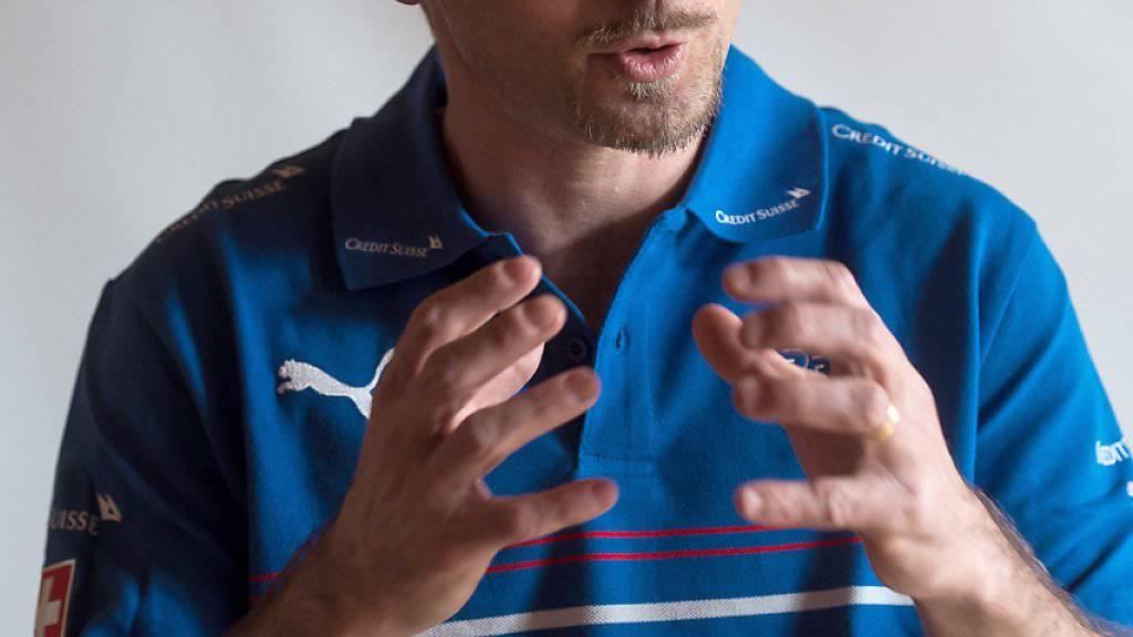 Mauro Lustrinelli, im Bild als Assistenztrainer der Schweizer U21, will sich mit Thun für einen Profi-Trainervertrag empfehlen