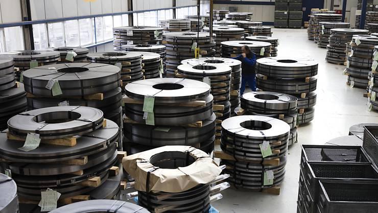 """Die Schweizer Aluminiumindustrie hat im letzten Jahr """"eine erfreuliche Anzahl an Neuaufträgen"""" an Land gezogen. (Themenbild)"""