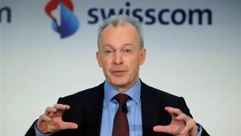 Die erste Halbzeit haben die USA gewonnen: Swisscom-CEO Urs Schäppi.