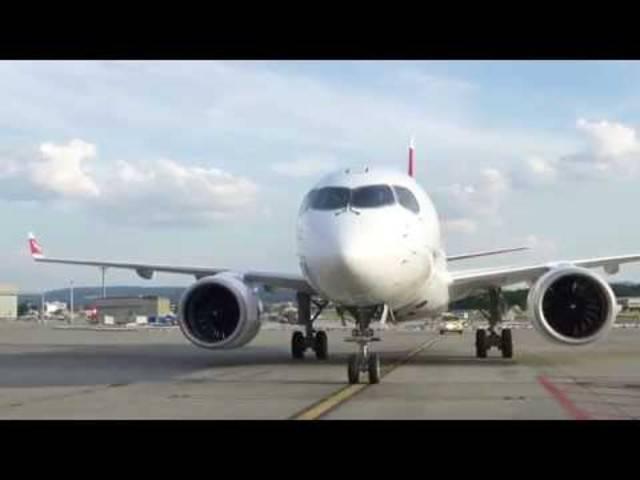 Bombardier C Series CS100 – Der neue Regional-Jet der Swiss
