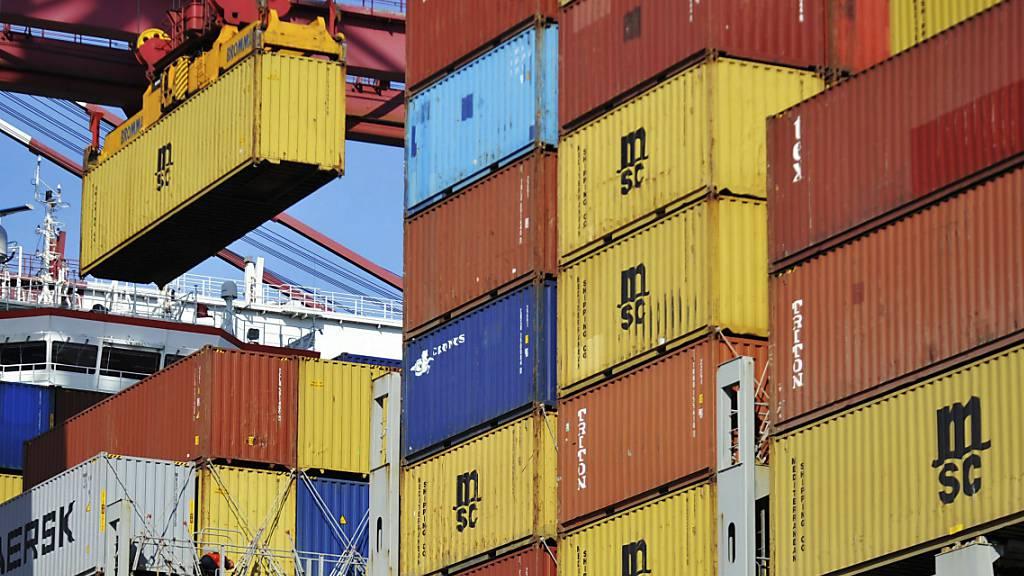 Die chinesische Exporttätigkeit läuft wieder auf Hochtouren. (Archivbild)