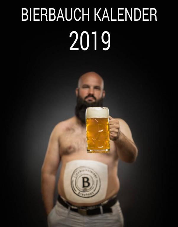 Bierbauchkalender 2019 (© zVg)