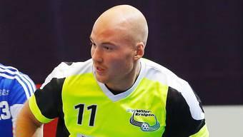 Der Bald-Papa Henrik Olofsson.