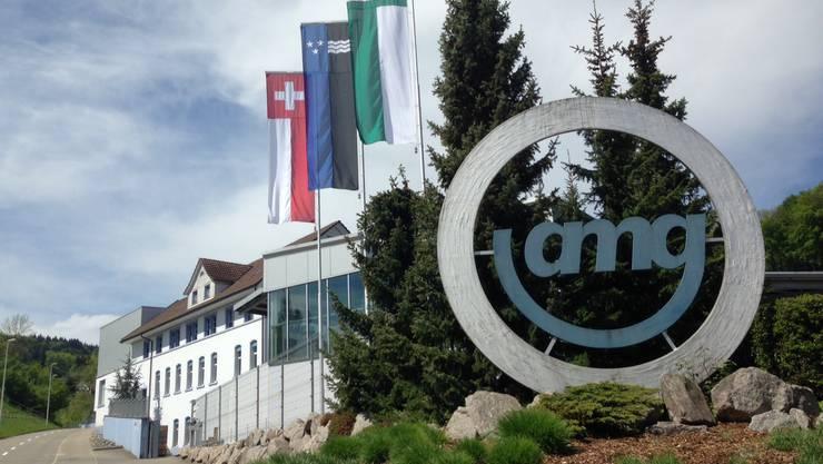 Das Werk der AMG in Gontenschwil.