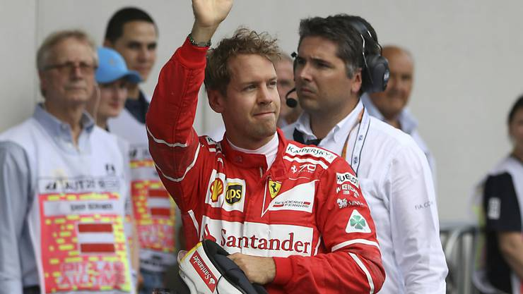 Sebastian Vettel wird wohl auch in der kommenden Saison für Ferrari starten