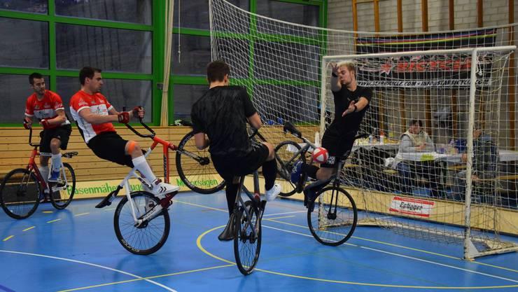 In Liestal fanden die 45. internationalen Radballturniere statt.
