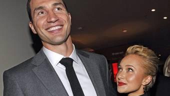 Wladimir Klitschko und Ex-Freundin Hayden Panettiere verstehen sich immer noch bestens (Archiv)