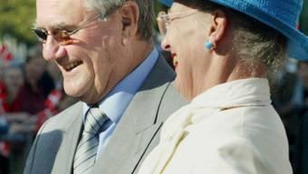 Königin Margrethe und ihr Gemahl