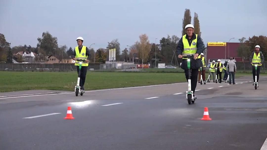 Wie sicher sind Sie auf dem E-Scooter unterwegs?
