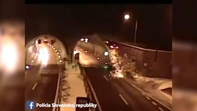 Spektakulärer Unfall in der Slowakei