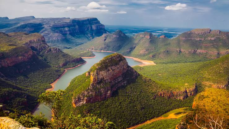 Faszinierende Landschaften Südafrikas.