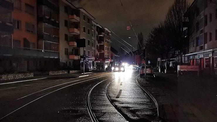 In Binningen fiel für rund eineinhalb Stunden der Strom aus.