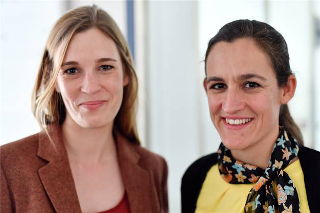 An zweiter Stelle steht die Parteipräsidentin Marionna Schlatter (rechts). Die Hinwilerin kandidiert zudem für den Ständerat.