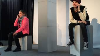 Im Theater wurde gezeigt, welche Folgen Mobbing im Internet haben kann. zvg