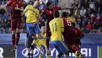 Am Ende durften beide über den Halbfinal-Einzug an der U21-EM jubeln: Portugal und Schweden