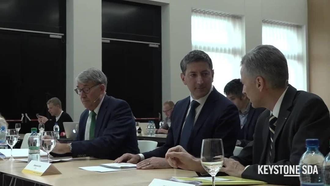 Neuer Post-CEO Roberto Cirillo stellt sich der Öffentlichkeit vor