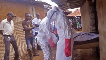 In Westafrika ist die Ebola-Epidemie noch nicht ausgestanden