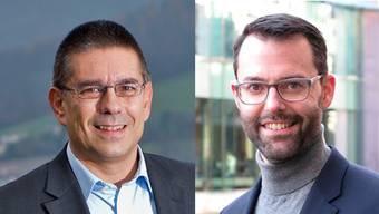 Markus Schneider (links) und Bernhard Schmid.