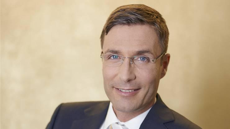 Andreas Arni (l.) leitet bei der CS die Einheit, die Unternehmer betreut. Zvg