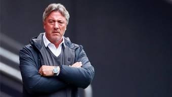 Marco Schällibaum könnte bald nicht mehr Trainer des FC Aarau sein.