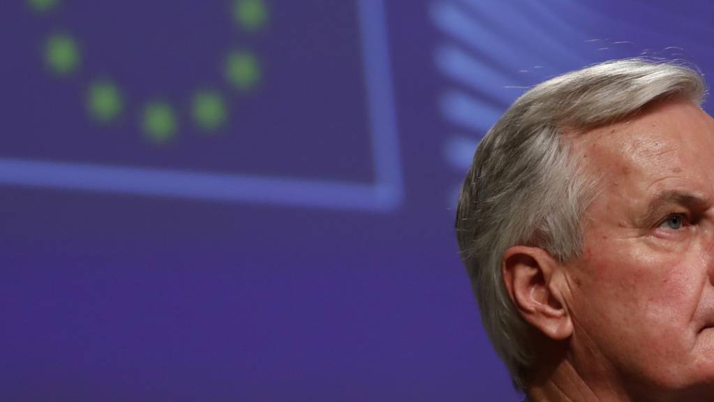 Michel Barnier, EU-Chefunterhändler für den Brexit. Foto: Francisco Seco/Pool AP/dpa