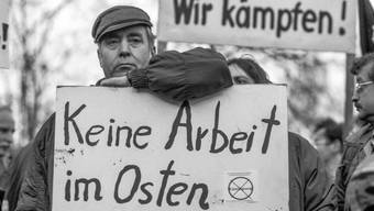 Ganz so gross wie 1992 sind die Unterschiede zwischen Ex-Ost- und Ex-Westdeutschland nicht mehr. Gleichauf sind die wiedervereinigten Landesteile aber noch längst nicht.
