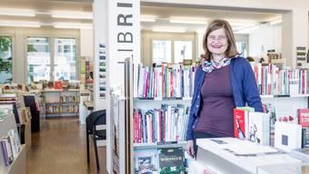 Susanne Jäggi, Inhaberin der Badener Buchhandlung Librium und Jury-Mitglied des Deutschen Buchpreises