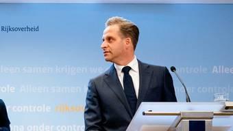 Hugo de Jonge, Gesundheistminister in den Niederlanden: «Wir müssen alles tun, um eine zweite Corona-Welle zu verhindern»