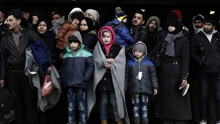850'000 Menschen sind via Türkei nach Griechenland geflüchtet
