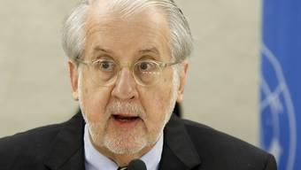Paulo Pinheiro, Präsident der UNO-Untersuchungskommission zu Syrien (Archiv)