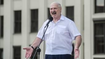 Hemdsärmeliger Autokrat: Alexander Lukaschenko.