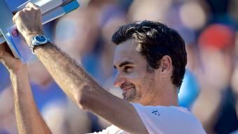 Bereit für neue Grosstaten: Roger Federer nach dem Final in Montreal