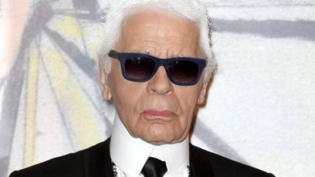 Modeikone Karl Lagerfeld ist gestorben.