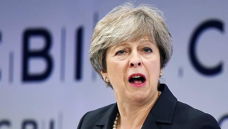 Für die nächste Gesprächsrunde mit der EU hat die britische Regierung unter May noch nicht Position bezogen. (Archivbild)