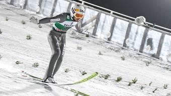 Kommt weiterhin nicht auf die gewünschten Weiten: Skispringer Killian Peier