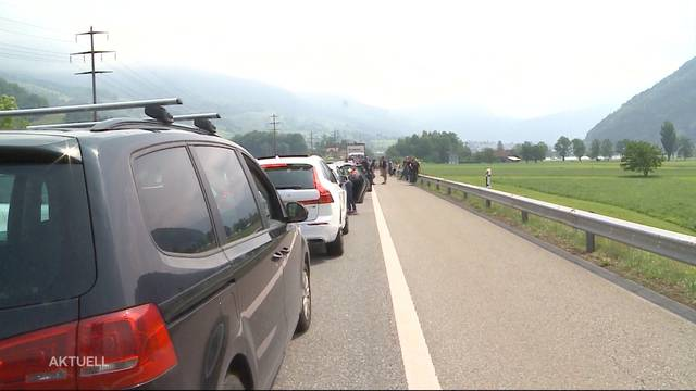 Gotthard bricht Rekordstau mit 28 Kilometern