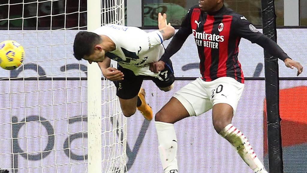 Atalanta Bergamo gewinnt Spitzenspiel gegen AC Milan