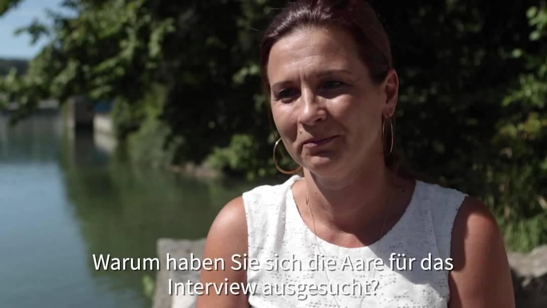 Sarah Koch, Leiterin Wirtschaftsförderung Kanton Solothurn, im Interview für das Projekt «SommerSpass» (HQ)