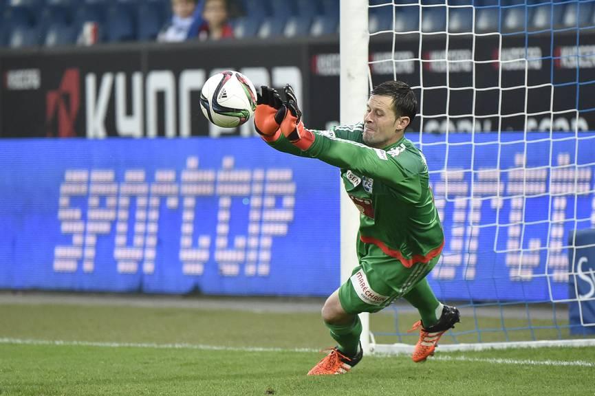 FCL-Goalie Dave Zibung.