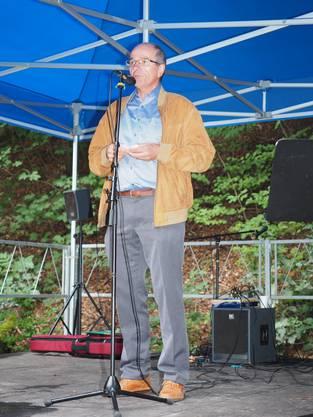 Gemeindeammann Urs Leuthard dankte dem Elternverein für dessen Engagement.