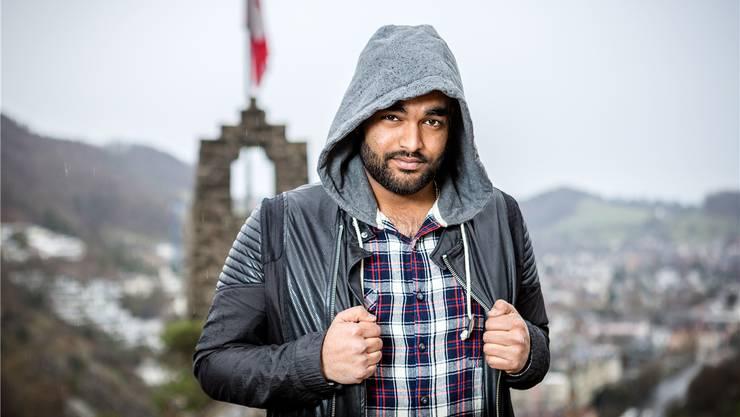 Mathu Manivannan alias «Dope Kid» bringt sein erstes Album heraus.
