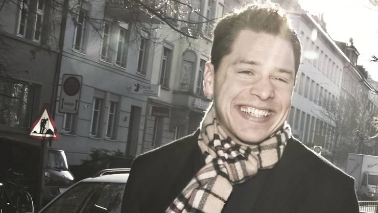Dani Hofstetter in den Strassen von Zürich.